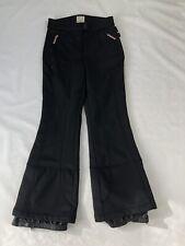 "Ladies Black Polar Dreams Ski Trousers SZ Waist 32"" #467"
