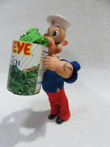 "POPEYE EATING SPINACH 1967 KFC 10"" Wind-Up Toy - Vintage WORKS!"