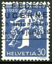 SWITZERLAND - SVIZZERA - 1939 - Apertura dell'Esp. naz. di Zurigo (franc.) - 30