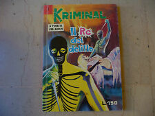 """KRIMINAL NR 1 (MAGNUS) Fumetto Erotico RITAMA 1999"""" IL RE DEL DELITTO FUM0"""