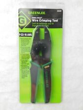 Greenlee Kwik Cycle Wire Crimping Tool 22 10 Awg 45500