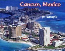 MEXICO - CANCUN - Travel Souvenir Flexible Fridge Magnet