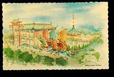 1964 Hong Kong Pavilion by E.Snyder New York World's Fair exposition postcard