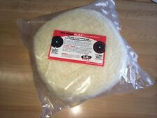 Woolen Double Sided 200mm Buff Cutting Pad Compounding
