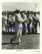 Fred Hawkins Promotional Photograph Golfer TV Promo B&W 8 x 10