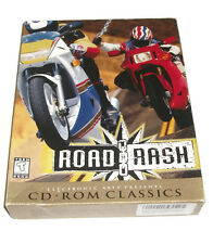 ROAD RASH Motorcycle Racing Game for PC CD-ROM 1996 Used