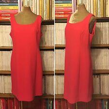 ARMANI COLLEZIONI pink fitted sheath pencil dress UK 18 US 14 formal sleeveless