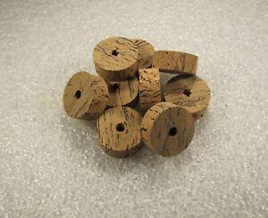 """Cork ring, Wave 2 Burl cork 1/2"""" x 1.25 x 1/4 (4)pcs"""