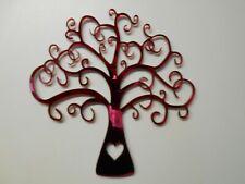 Tree ,Red Acrylic Mirror, 60cm