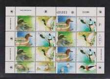 Postfrische Briefmarken aus dem mittleren Osten mit Vögel-Motiv
