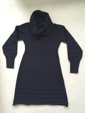 GORGEOUS navy blue knitted FUNKI FRESH wool dress - size S-M