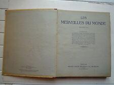LES MERVEILLES DU MONDE PAR STE NESTLE 50 SERIES INSECTES ANIMAUX TEXTES 1948