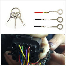 3 Pcs High Quality Car Terminal Wiring Crimp connector Pin Removel Key Extractor