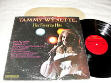 "Tammy Wynette ""Her Favorite Hits"" 1977 Country LP, Nice VG++!, Columbia Special"