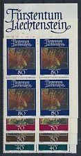 Liechtenstein 776/79 postfrisch / Viererblöcke .................................