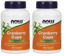 Now Foods Cranberry Caps, 100 capsules-2 Pack