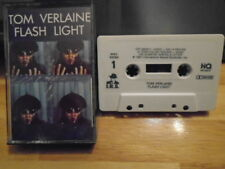 RARE OOP Tom Verlaine CASSETTE TAPE Flash Light new wave TELEVISION Blondie 1987
