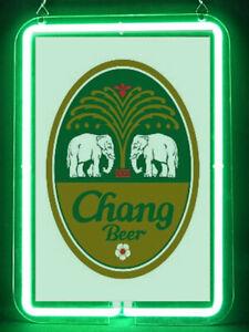 Chang Thai Beer Hub Bar Display Advertising Neon Sign
