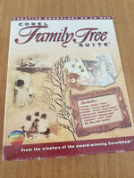Corel Family Tree Suite Creative Genealogy On CD-ROM (PC Windows 95)