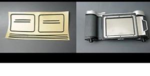 Mamiya Press 6x7 6x9 Filmback Lumière Joints Kit Remplace Éponge De Japon Caméra