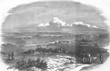 UKRAINE. View of Sevastopol, antique print, 1854