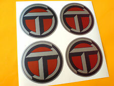 TALBOT T  Wheel Centre Race Rally Car Stickers Decals 4 off 50mm