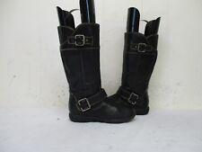 Boc Born Ramona Brown Zip Buckle Comfort Boots Youth Size 13