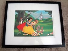 Disney Snow White a Smile, a Song and a Castle LE Lithograph Don Ducky Williams
