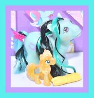 ❤️My Little Pony MLP G1 Vtg Mail Order BABY BOY LUCKY the Stallion Reroot OOAK❤️