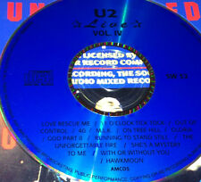 U2 Live Vol. 4 CD Rare Bono Love Rescue Me 40 M.L.K. Gloria With Or Without You