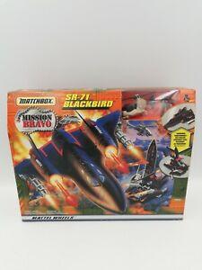 Vintage Matchbox Mission Bravo SR-71 Blackbird - RARE New Mattel 1998