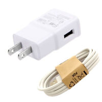 2A Power Wall Charger Cable Cord for Ematic EM318VIDBL 8GB MP3 Video Player