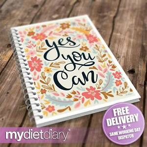 FOOD DIARY WEIGHT WATCHERS COMPATIBLE - Yes You Can (W034W) 12wk journal tracker