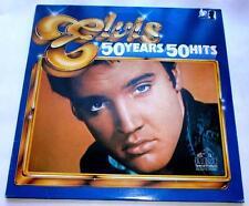 Elvis Presley Elvis 50 Hits 1985 RCA 0710 Stereo 3 LPs Original Recordings NM