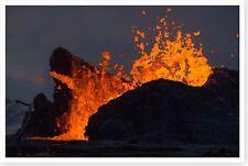 2018 Leilani Estates Lava Eruption Kīlauea Volcano Silver Halide Photo