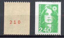STAMP / TIMBRE FRANCE NEUF N° 2823a** NUMERO ROUGE AU DOS / ROULETTE