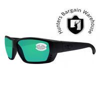Costa Del Mar , Tuna Alley Black Out Green Mirror 580G Sunglasses