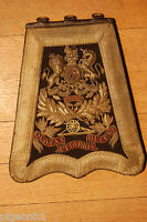 499.99 Victorian Royal Artillery Officers Full Dress Embroidered Sabretache.