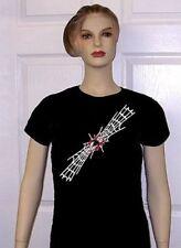 Black Widow Spider Web Skull Man Gothic T-Shirt Et5