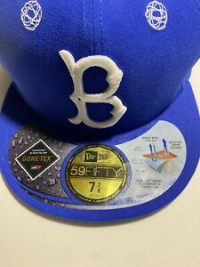 Brooklyn Dodgers New era fitted cap size 7 3/8 Gortex By futura Limited Edition.