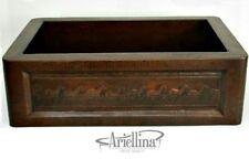 Ariellina Farmhouse 14 Gauge Copper Kitchen Sink Lifetime Warranty New AC1817