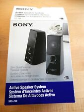 SONY Active Speaker System SRS-Z50 with Power Adaptor and Original Box