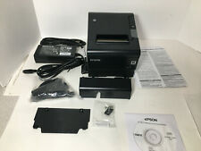 Epson C31ce94061 Tm T88vi 061 Ethernet And Usb Thermal Receipt Printer