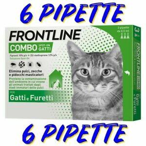 FRONTLINE COMBO GATTO - 6 FIALE - SCADENZA 2023