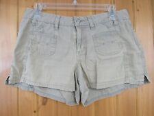 Mudd Women's Beige Mini Shorts Size 7 Stretch