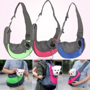 Pet Dog Cat Puppy Carrier Mesh Comfort Travel Tote Shoulder Bag Sling Backpack