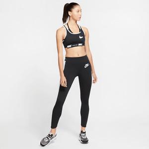 Sacai X Nike Womens Designer Running Yoga Pants Leggings Tights Black and White
