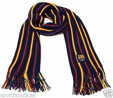 FC Barcelona Scarf Soccer Fashion Scarf Authentic Official Licensed