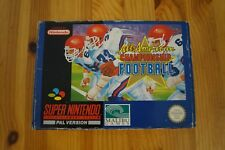 All American Championship Football Super Nintendo Snes Complet UKV