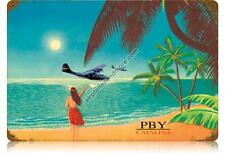 PBY Catalina Metal Sign - Hand Made in the USA with American Steel